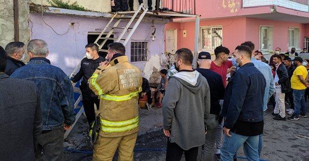 İzmir'de 4 yaşındaki çocuk evde çıkan yangında öldü