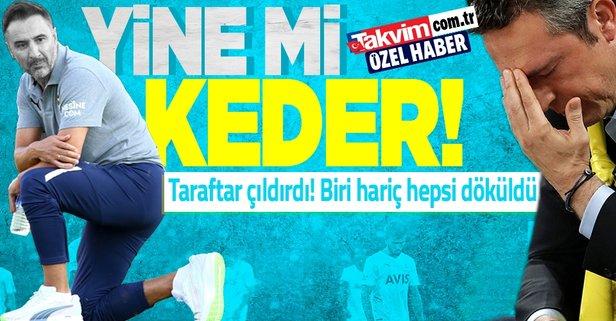 Fenerbahçe'de büyük hayal kırıklığı