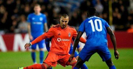 Beşiktaş Genk önünde 3 puanı son anda kaçırdı