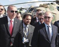 Başkan Erdoğan Putin ile Ukrayna krizini görüştü