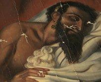 140 yıllık Yahya Peygamber tablosu orijinal çıktı