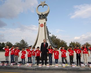 Başkan Erdoğan, Samsunlu öğrencilerle bir araya geldi