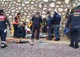 Muğla'da freni boşalan tüp kamyoneti devrildi 1 ölü, 1 yaralı