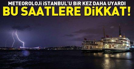 Son dakika: Meteoroloji İstanbul'u yine uyardı! İstanbul'a yağış için saat verdiler! (30 Temmuz 2018 Pazartesi hava durumu)