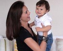 Ebru Şallı'nın ölen oğlu videosuyla yürek sızlattı!