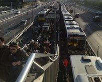 İstanbulluların ulaşım çilesi bitmiyor