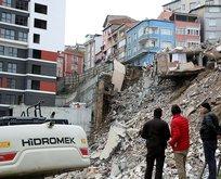 Kağıthane'de çöken binalarla ilgili flaş gelişme
