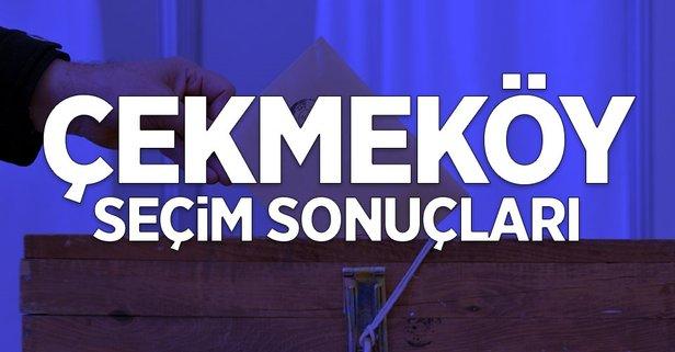 İstanbul Çekmeköy 2019 yerel seçim sonuçları