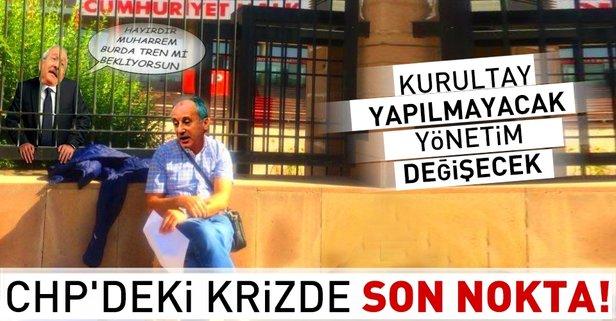 CHP'de kriz sürüyor! Yönetim değişecek