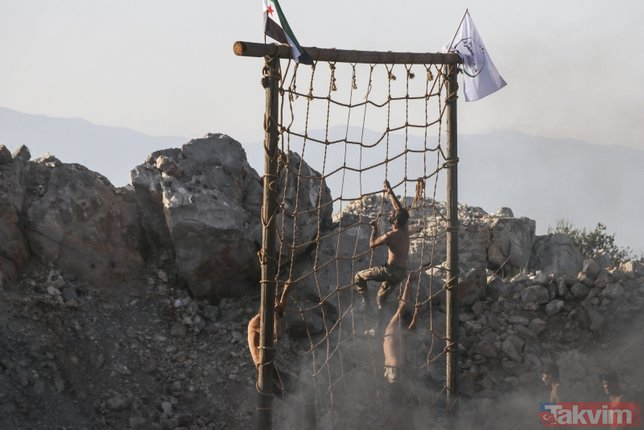 Harekat için emir bekliyorlar! ÖSO Özel Kuvvetleri'nin tatbikatı gerçeği aratmadı