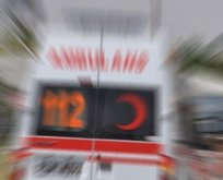 Bu kez tam tersi oldu; Beyoğlu'nda yaya otobüse çarptı