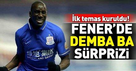 Fenerbahçe'ye Demba Ba sürprizi