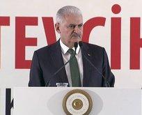 Başbakan Yıldırımdan çarpıcı Afrin mesajı