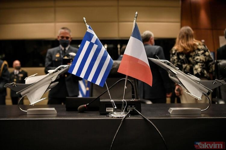 Yunan gazeteden rezillik! Türkiye'nin Fransız Rafale jetlerini kopyaladığını iddia etti!