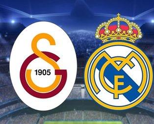 İşte Galatasaray-Real Madrid maçı muhtemel 11'leri