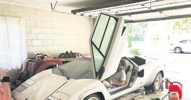 Garajdan servet çıktı