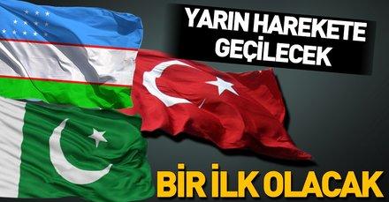 Türkiye, Özbekistan ve Pakistan'dan ortak askeri tatbikatı
