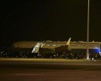 Korku dolu anlar! Pence'in uçağı acil iniş yaptı