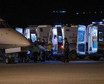 Lübnan'daki patlamada yaralanan 3 kişi Türkiye'de