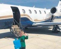 Vida'dan ailesine özel uçak