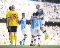 Manchester City Watford'u ezdi geçti