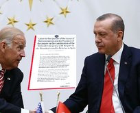 Çavuşoğlu'ndan Biden'ın mektubuna sert yanıt