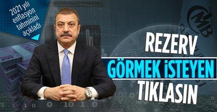 Merkez Bankası Başkanı Şahap Kavcıoğlu: Rezerv rakamımız yaklaşık 126 milyar dolar seviyesine yükseldi