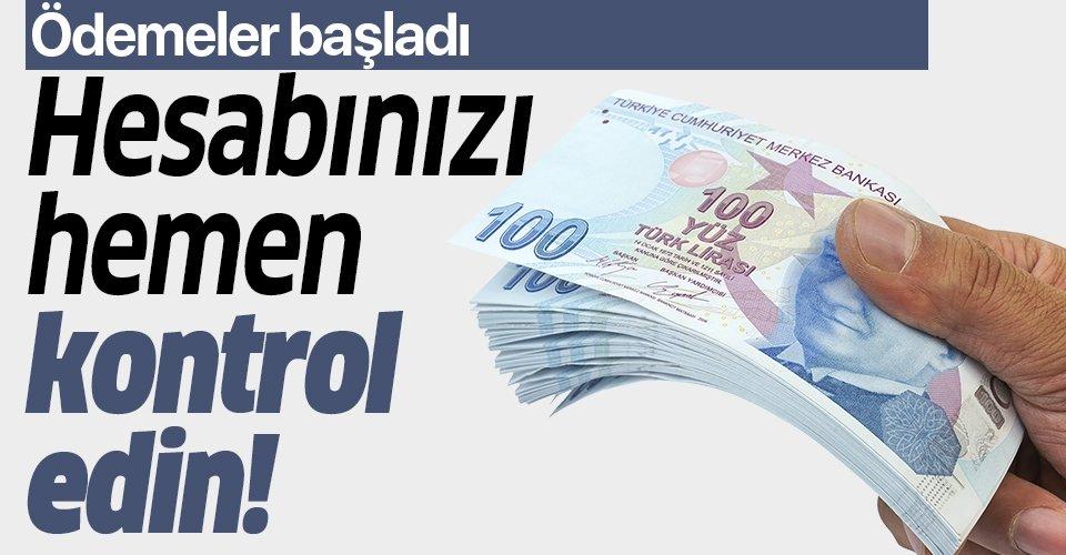 Son dakika: 10 bin lira kredi hesabınıza geçiyor! Destek kredisi ödemeleri başladı!