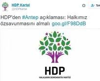 HDP'den iç savaş çığırtanlığı