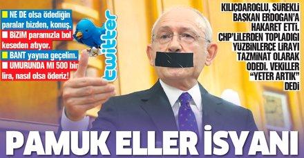 CHP'li vekillerden Başkan Erdoğan'a sürekli hakaret eden Kılıçdaroğlu'na isyan: Yeter artık