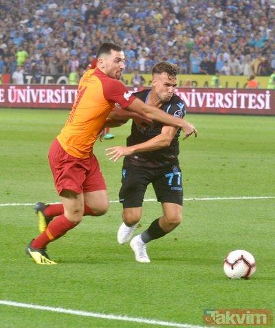 İşte Trabzonspor-Galatasaray derbisinden tarihi anlar