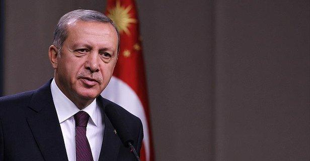 Başkan Erdoğan'dan Galatasaray'a tebrik