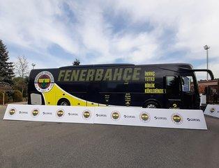 Fenerbahçe'nin yeni takım otobüsü tanıtıldı! İşte büyük sırrı