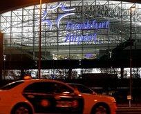Almanya'da havalimanında saldırı iddiası