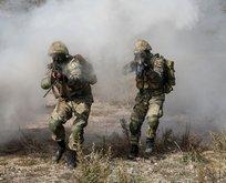 Taciz ateşi açan 9 PKK/YPG'li terörist artık yok