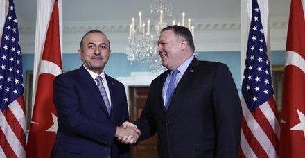 Son dakika: Bakan Çavuşoğlu ABD'li mevkidaşıyla görüştü