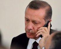 Başkan Erdoğan Nazarbayev ile telefonda görüştü