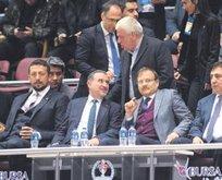 Çavuşoğlu ve Bak'tan millilere destek