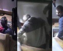 Gizli bölmede yakalanan teröristler tutuklandı