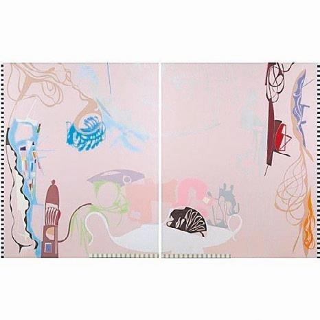 Türk Ressam Haluk Akakçenin Tabloları Londradaki Sanat Evi