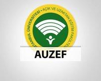 AUZEF sınav giriş belgesi nasıl alınır? AUZEF telafi sınav sonuçları ne zaman açıklanacak?
