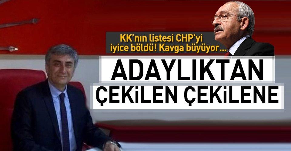 CHPli milletvekili adayı Hasan Ramiz Parlar adaylıktan çekildi