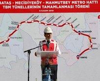 O metro hattı ile ilgili flaş karar!