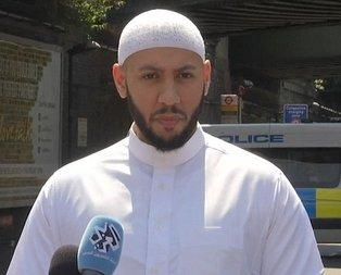 Londra'da kahraman imama İslamofobik saldırı