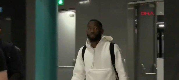 Beşiktaş'ın yeni transferi N'Koudou İstanbul'a geldi