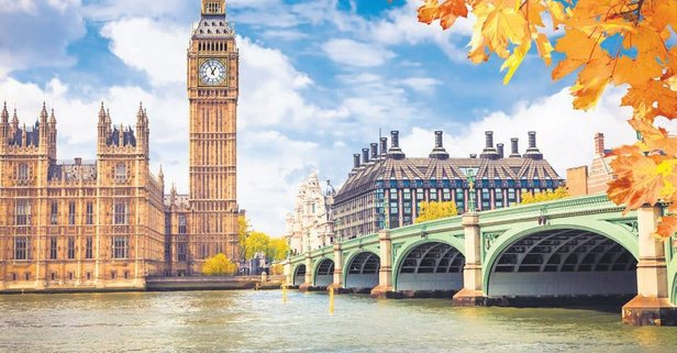 Londra'da çifte kutlama