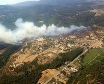 İzmir'de korkutan yangın!