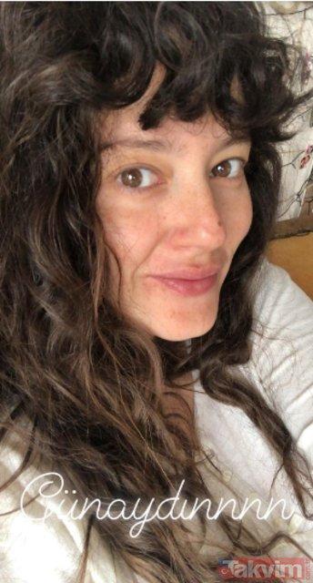 Elimi Bırakma dizisinin yıldızı Alina Boz makyajsız haliyle kendisine hayran bıraktı!
