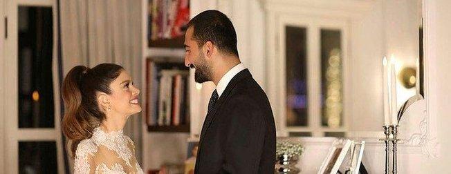 Hilal Özdemir ve Volkan Babacan düğün öncesi Boğaz turu yaptı!