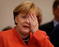 Merkel çöktü